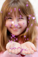 IMG_2768.jpg (mama2em) Tags: california pink girl smile northerncalifornia vertical sparkles happy blowing confetti redhead falling bayarea grin southbay sprinkle