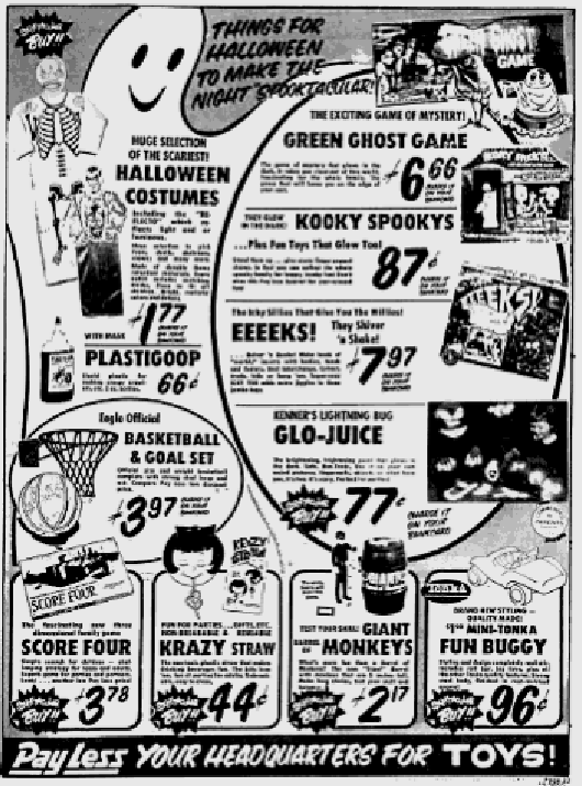 Ad in Tri City Herald, Oct 20, 1969, p85