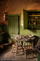 Breakfast Time (James Neeley) Tags: california architecture interior ghosttown bodie hdr oldbuilding 5xp handheldhdr jamesneeley flickr22mammothlakes