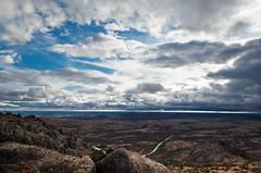Atop Mount. Scott (maxstier) Tags: sky clouds wichitamountains wichitamountainswildliferefuge lightstorm d7000