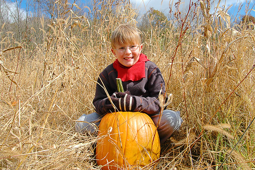 day 2660: A Pumpkin Patch Adventure with Grandparents! XIII.