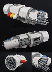 Atlas Fuel Tanker ([Victor]) Tags: lego space microspace microscale