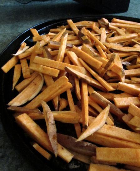 Mandolin Sweet Potato Fries