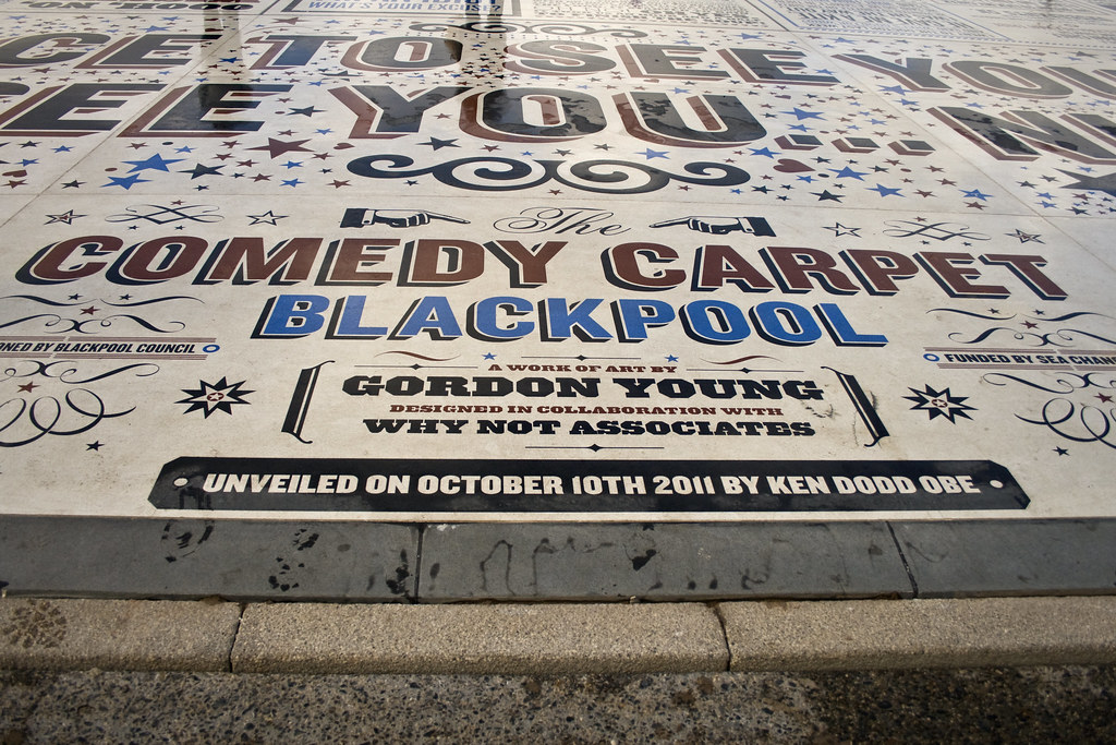 The Comedy Carpet Blackpool