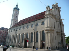 Pfarrkirche Helig Geist. Church of the Holy Spirit. Original church completed in 1392