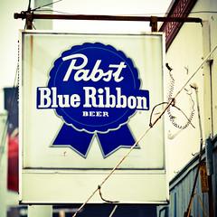 Pabst Blue Ribbon (Thomas Hawk) Tags: usa beer bar unitedstates 10 memphis tennessee unitedstatesofamerica pbr pabst pabstblueribbon fav10