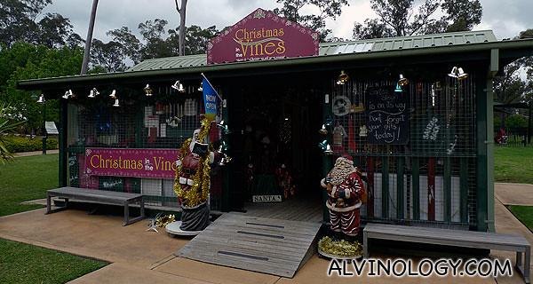 A shop that just sells Christmas stuff