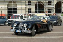 Jaguar XK 140 Roadster (Maurizio Boi) Tags: auto old classic car vintage automobile voiture oldtimer jaguar roadster vecchio xk140 voituresanciennes worldcars