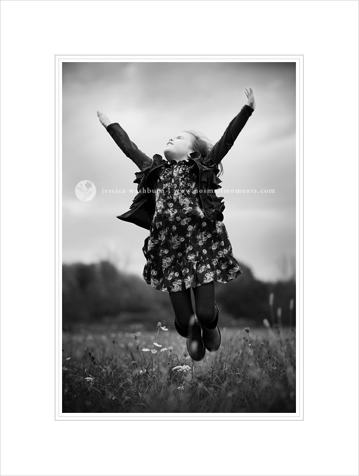 black and white kids photography