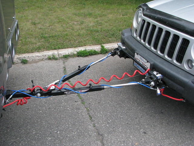 rv tow bar hook up How to dinghy tow my vehicle with blue ox tow bar base plate set-up (jeep wrangler used as example)  the jeep wrangler and blue ox rv.