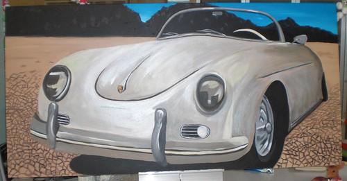 Porsche Painting | Alicia Hanson
