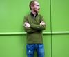 Over green (Mr-Pan) Tags: portrait green weekend walk redhead exposition fox roux visite découverte vernisage mrpan