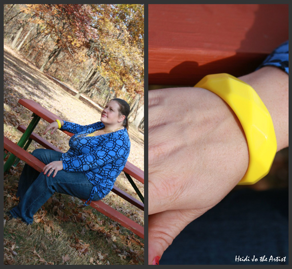 Yellow Banana Bracelet Collage