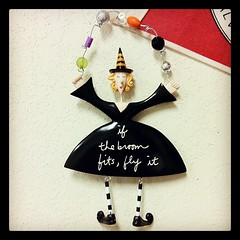 My latest in my witch collection. #halloween