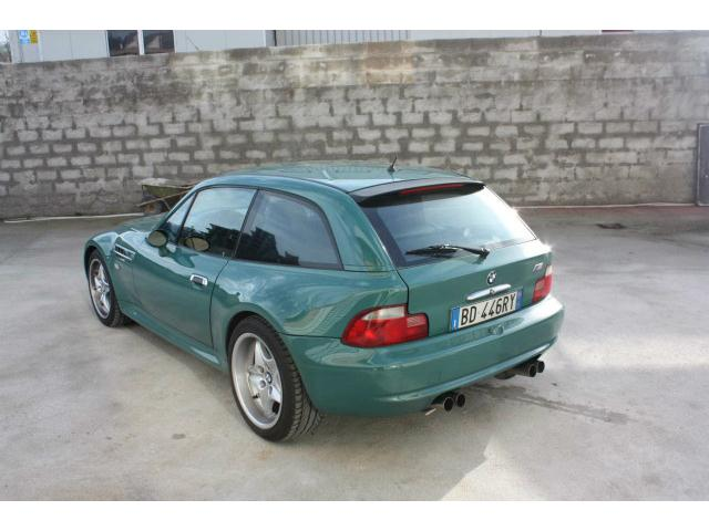 1999 BMW M Coupe | Evergreen | Evergreen/Black | Sunroof Delete