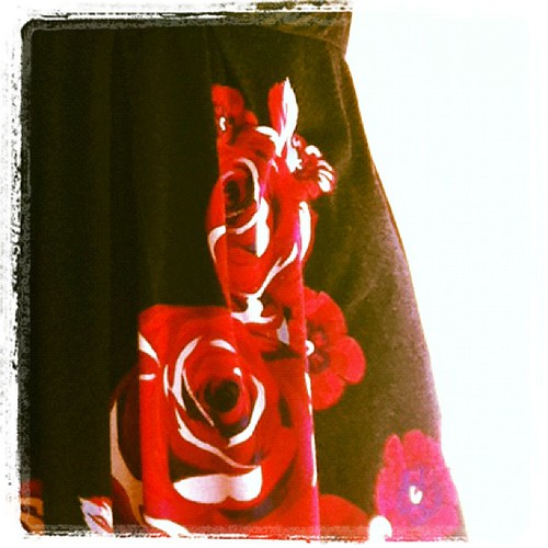 #frocktober 26th roses