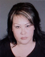 Booking Photo of Arson Suspect Maria Porras
