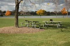 Picnic In the Park (Mike Chunko) Tags: americanairlines lakepark memorials chicagoillinois desplaines desplainesillinois itzhakbentov flightaccidents flight191memorial sheldonwax judithwax paulschadefamily may251979