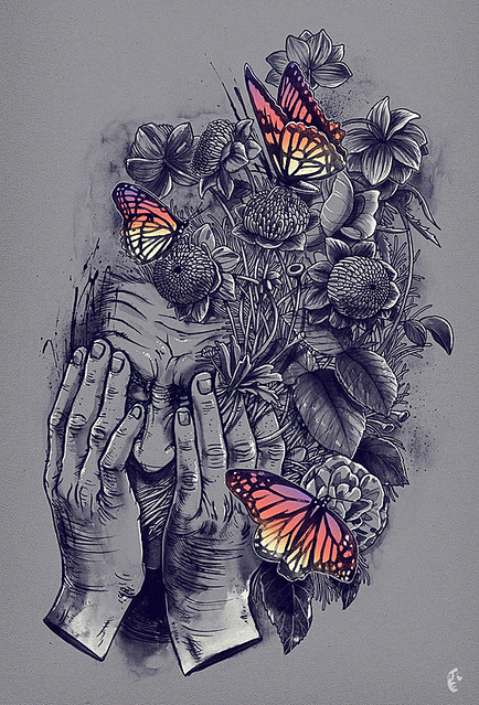 pollination artwork