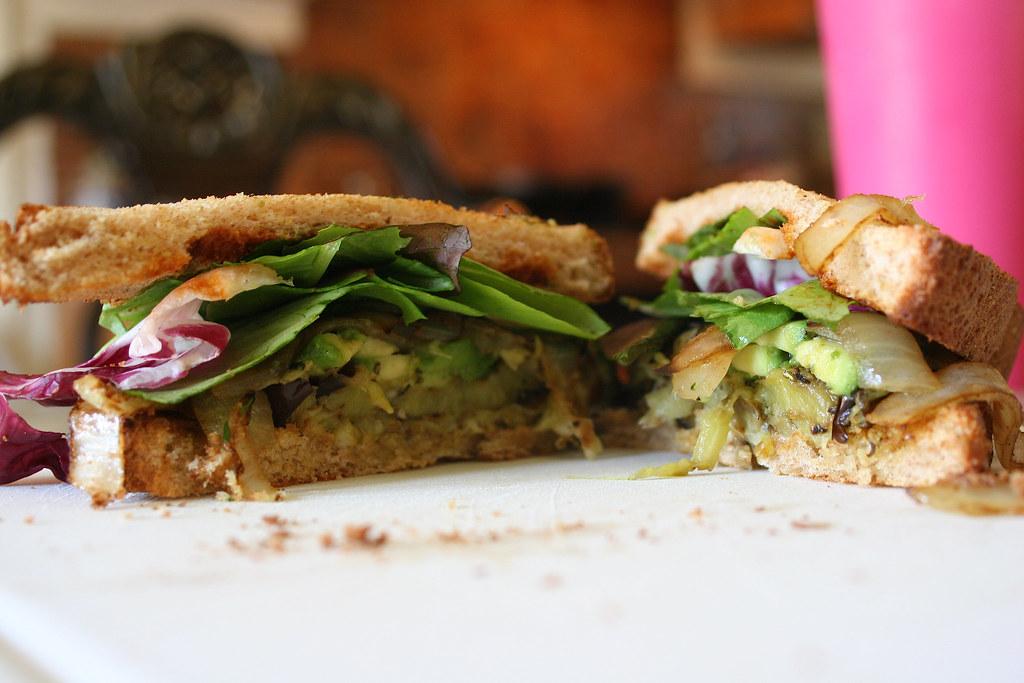 Sandwich in Modesto,CA Photo&Cook:Angel Pimentel
