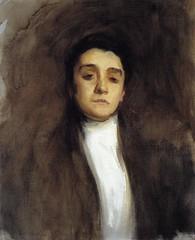 Eleanora Duse c. 1893 - artist John Singer Sargent