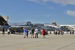 VX-9 Vampires F/A-18F Super Hornet (skyhawkpc) Tags: california ca nid nikon aircraft aviation navy naval usnavy chinalake usn vampires allrightsreserved prowler growler knid 2011 ea6b d90 vx9 166673 ea18g nawschinalake armitagefield 160436 166946 xe510 xe501 xe250 garyverver celebrationofnavalaviation