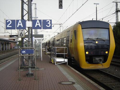 Bad Bentheim: Grensland Express Train