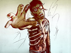 It's alive! (EduardoEquis) Tags: halloween illustration dead sketch zombie dibujo ilustracin muerto garabatos