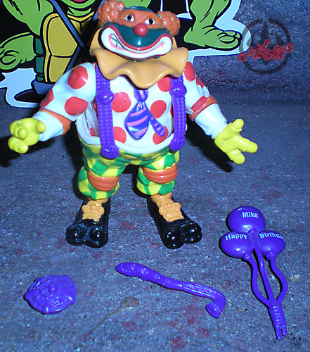 """Bodacious Birthday"" TEENAGE MUTANT NINJA TURTLES ::  TEENAGE MUTANT NINJA TURTLES ::  CRAZY CLOWIN' MIKE i (( 1992 ))"