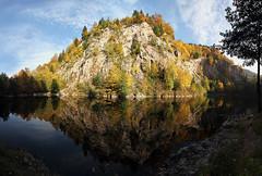 Waldenecksee im Herbst 2011