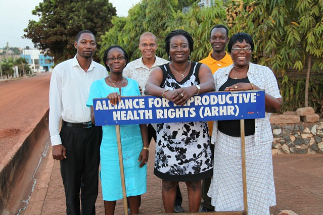 The Alliance for Reproductive Health Rights team