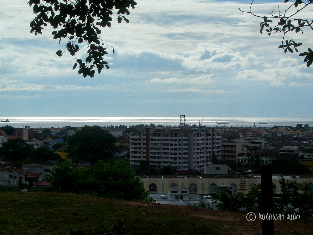 View of Malacca from Bukit China