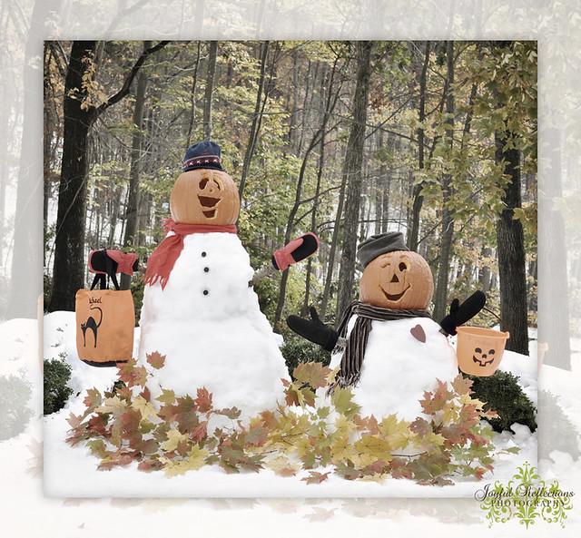 Happy Halloween Snowman!