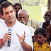 Rahul Gandhi in village chaupal, Sant Ravidas Nagar (4)