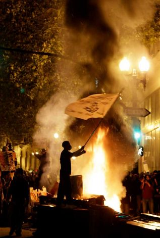 Occupy Oakland was the focus of solidarity on November 2, 2011 when workers and youth called a general strike in response to the repression carried out by cops. by Pan-African News Wire File Photos