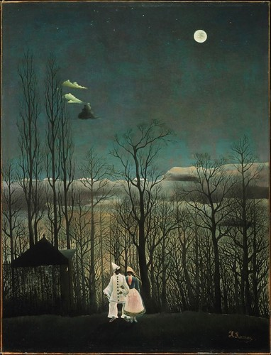 Henri Rousseau - Carnival Evening [1886] by Gandalf's Gallery