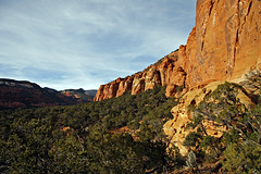 Eagle Cliffs, Great Western Trail (Bob Palin) Tags: 15fav cliff usa rock utah sandstone waynecounty club100 100vistas instantfave vogonpoetry nopin orig:file=20111103eos30d15489