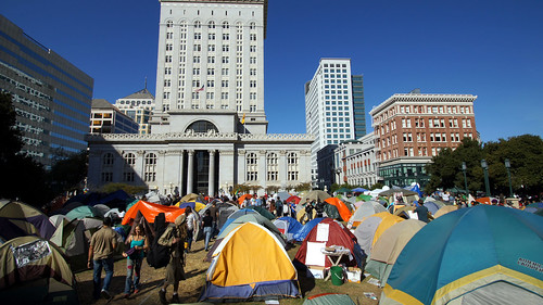 Occupy Oakland Protest on November 2, 2011