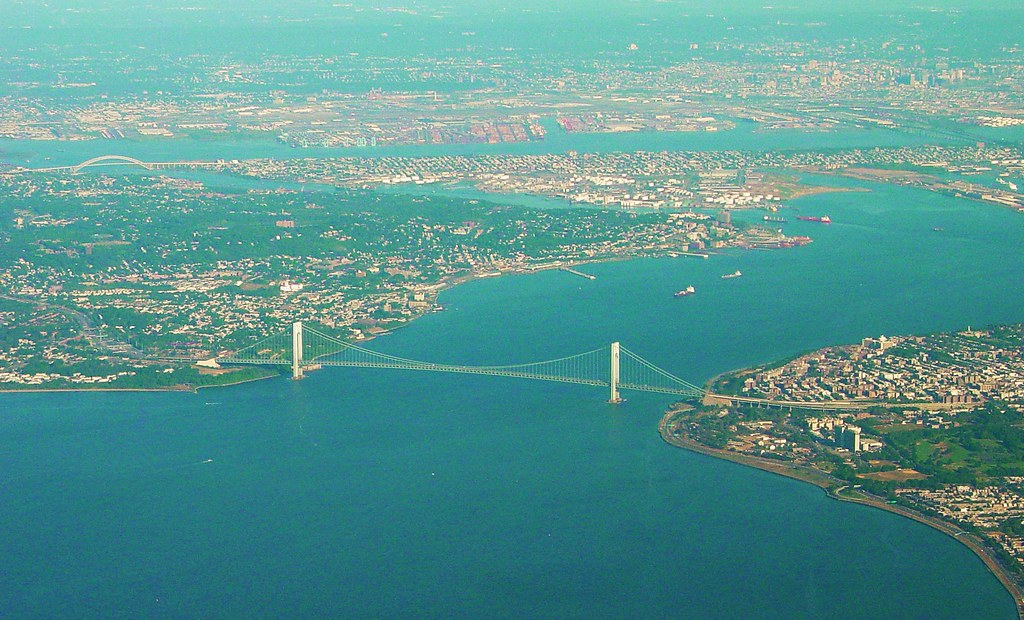 Brooklyn - Verrazano Narrows Bridge