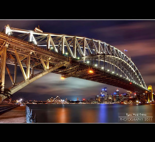 Sydney Harbour Bridge - Long Exposure