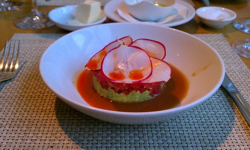 Tuna tartare at Nougatine. Spoiled from all future dishes of the same name.