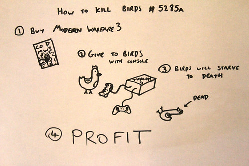 6324997607 b6c4ef1dc2 How to kill birds #5285a