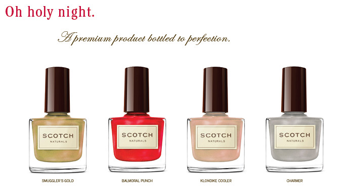 Scotch Naturals WaterColors 2011 Holiday Collection