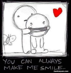 You make me smile (sanitaryum) Tags: funny lol humor cleanhumor