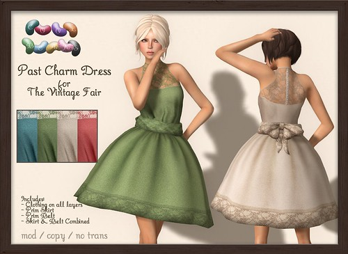 ::CB:: Past Charm Dress - Vintage Fair