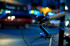 Bike-Friendly~~~~~~~~~~~~~~(Explore) (benchorizo) Tags: urban wickerpark chicago bokeh nightshots chicagoist banias bikefriendlycity benchorizo romeobanias