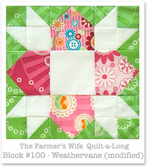 Farmer's Wife Quilt-a-Long - Block 100