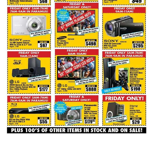 Electronics Expo Black Friday 2011 Ad Scan - Page 2