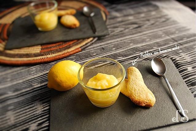 Lemon curd à la pomme