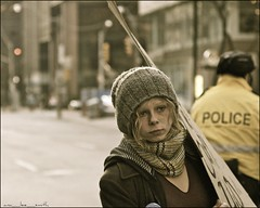 the face of occupy toronto .....